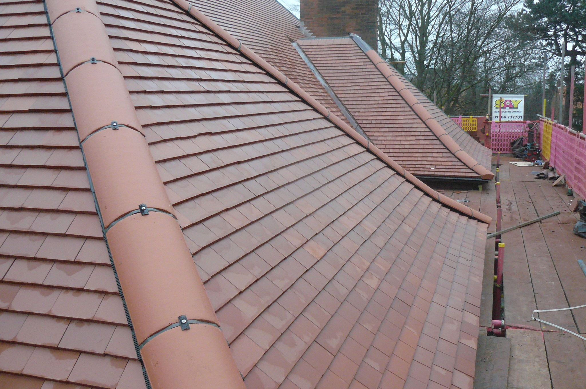 Clay Pantiles Roofing