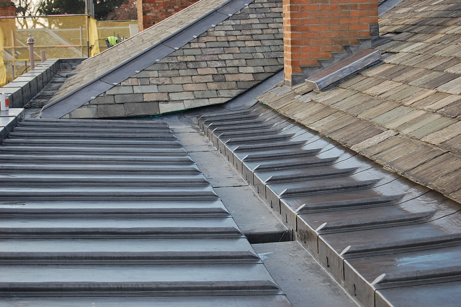 Fully supported and fully compliant lead roofing. Heritage roofing services undertaken by skilled craftsmen