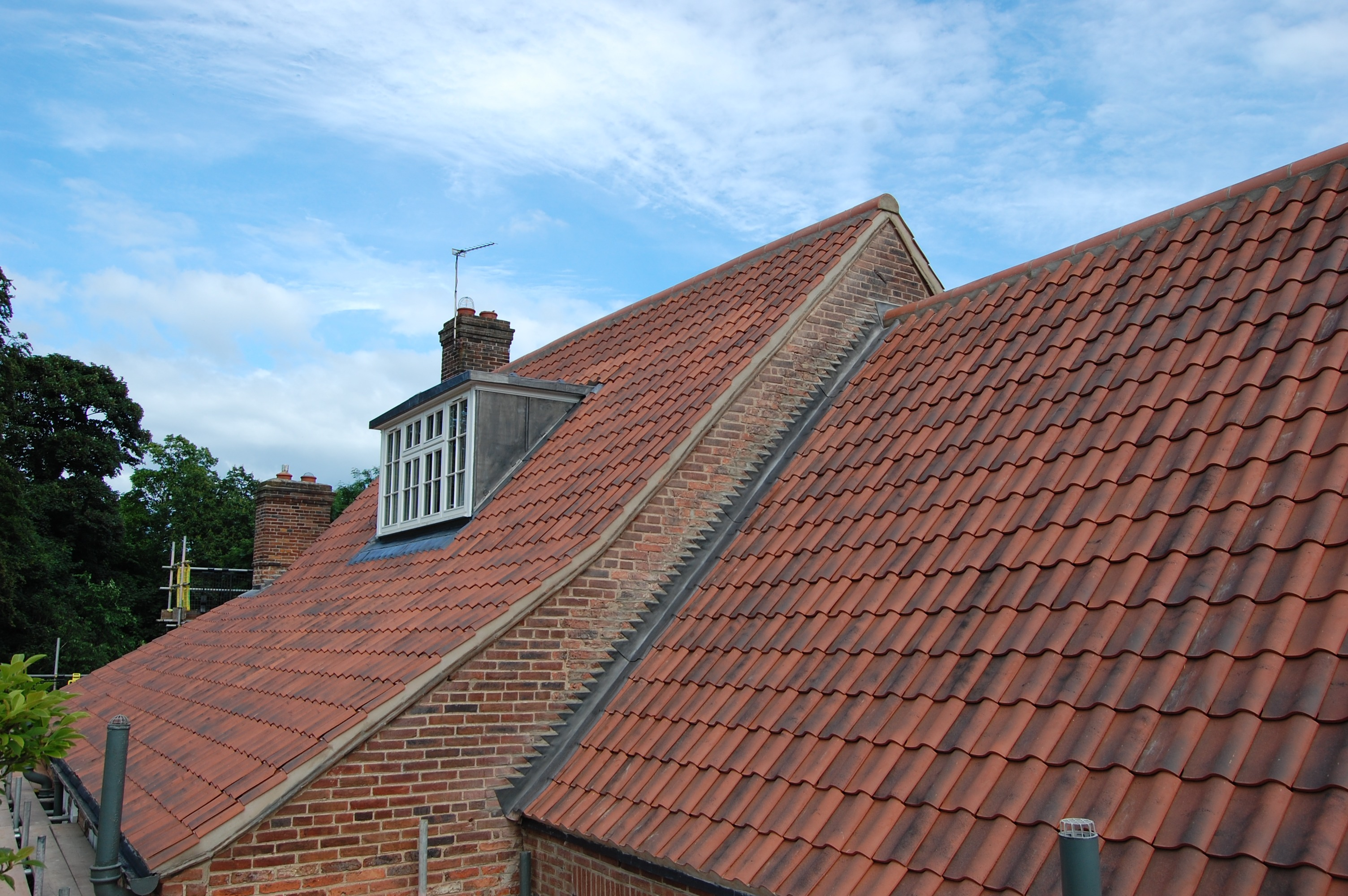 From terraced house to stately home. Our roofing services encompass all residential property types